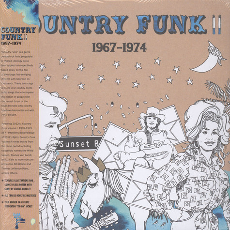 V.A. - Country Funk Volume 2: 1967 - 1974