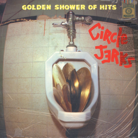 Circle Jerks - Golden Shower of Hits Yellow Vinyl Edition
