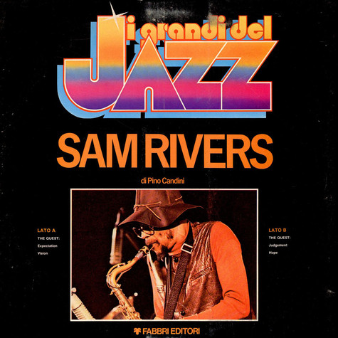 Sam Rivers - I Grandi Del Jazz