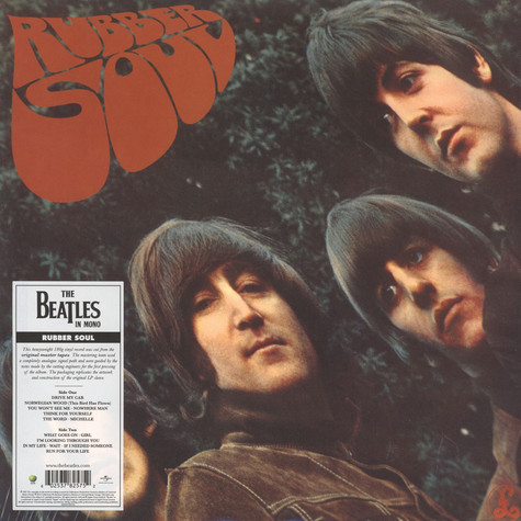 Beatles, The - Rubber Soul Remastered Mono Edition