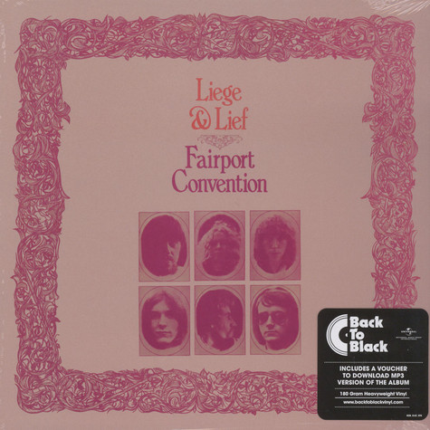 Fairport Convention - Liege And Lief Back To Black Edition