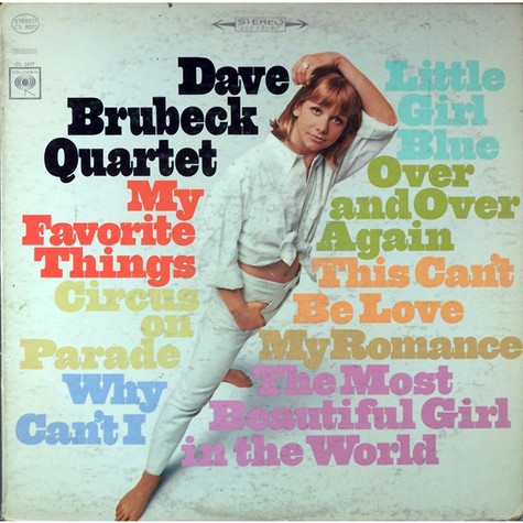 Dave Brubeck Quartet, The - My Favorite Things
