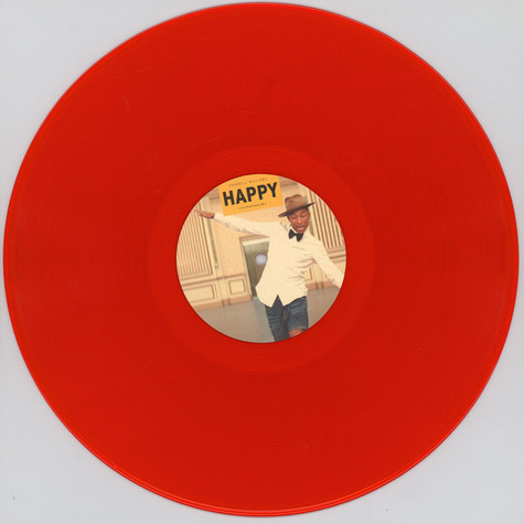 Pharrell Williams - Happy Part 1 Red Vinyl Edition