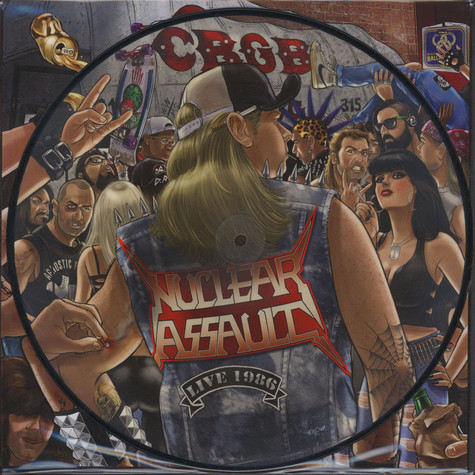 Nuclear Assault - Live At CBGB Picture Disc