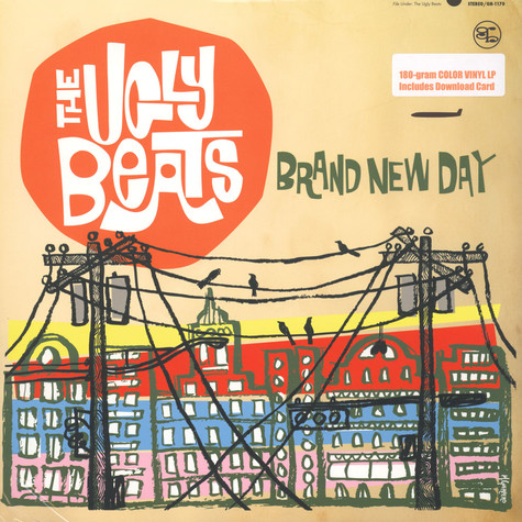 Ugly Beats - Brand New Day Orange Vinyl Edition
