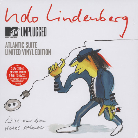 Udo Lindenberg - MTV Unplugged Atlantic Suite Limited Edition incl. T-Shirt