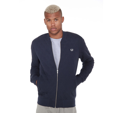 Fred Perry - Quilted Marl Bomber Jacket