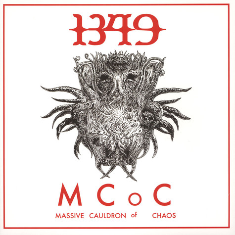 1349 - Massive Cauldron Of Chaos Black Vinyl Edition