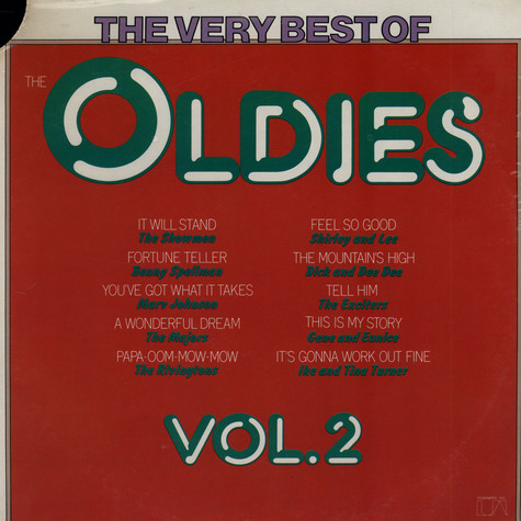V.A. - The Very Best Of The Oldies Vol. 2
