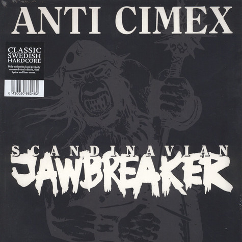 Anti Cimex - Scandinavian Jawbreaker Black Vinyl Edition