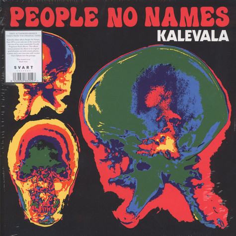 Kalevala - People No Names Black Vinyl Edition