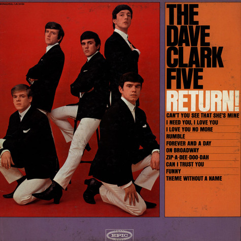 Dave Clark Five, The - The Dave Clark Five Return!