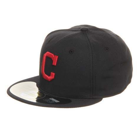 New Era - Cleveland Indians Road MLB Authentic 59fifty Cap