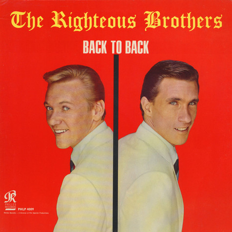 Righteous Brothers, The - Back To Back