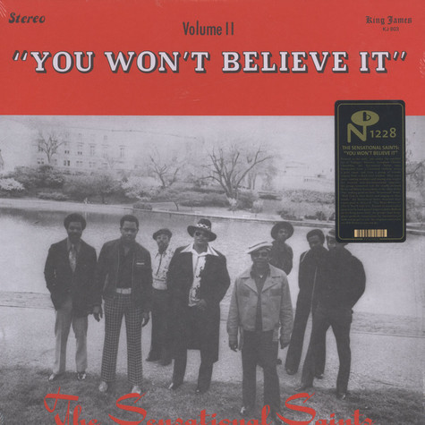 Sensational Saints - You Won't Believe It