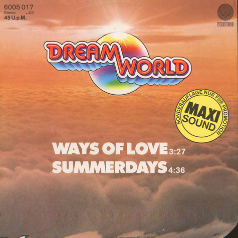 Dreamworld - Ways Of Love / Summerdays
