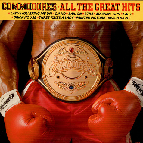 Commodores - All The Great Hits