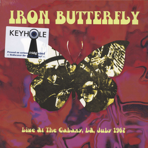 Iron Butterfly - Live At The Galaxy, LA July 1967