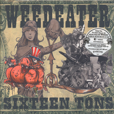 Weedeater - Sixteen Tons Black Vinyl Edition