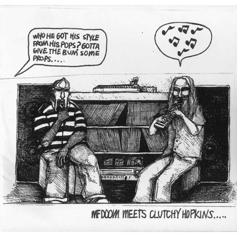 MF Doom Meets Clutchy Hopkins - MF Doom Meets Clutchy Hopkins....