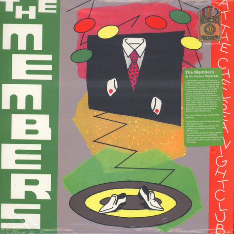 Members, The - At the Chelsea Nightclub Colored Vinyl Edition