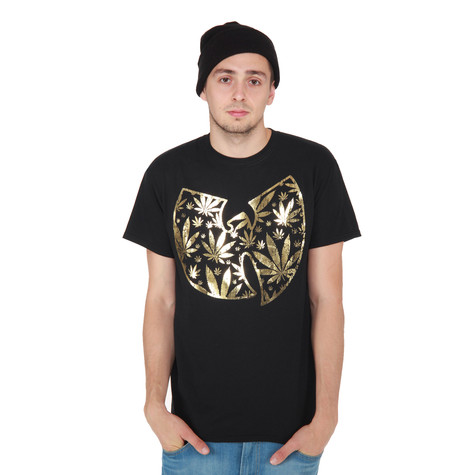 Wu-Tang Clan - Pot Leaf Clan Logo T-Shirt