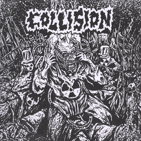Collision / The Rotted - Split