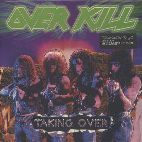Overkill - Taking Over Black Vinyl Edition