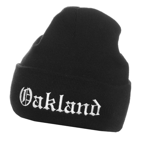 Mitchell & Ness - Oakland All City Cuff Knit Beanie