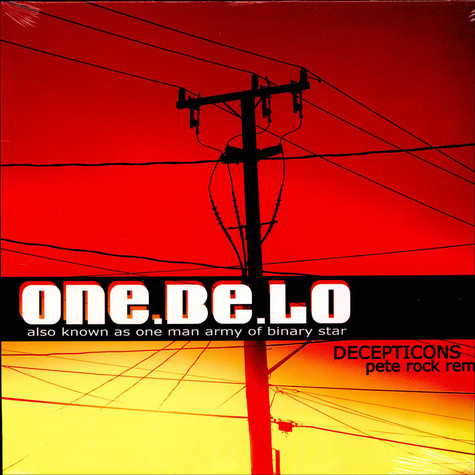 One Be Lo - Decepticons (Pete Rock Remix)
