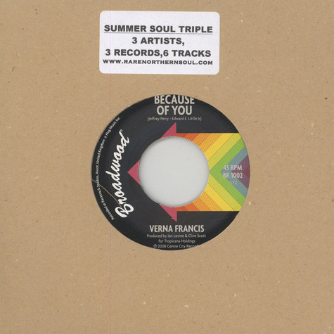 Verna Francis / Louvin Demps / Corine Armstrong - 2014 Summer Soul Triple Pack