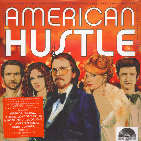 V.A. - OST American Hustle Red & Blue Vinyl Edition