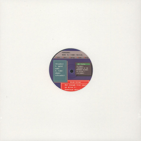 DJ Ford Foster - Gold Cans EP