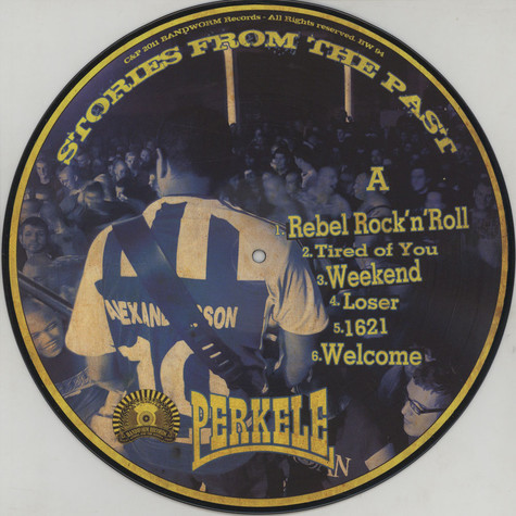Perkele - Stories From The Past Picture Disc