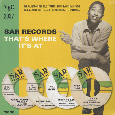 V.A. - SAR Records, That's Where It's At