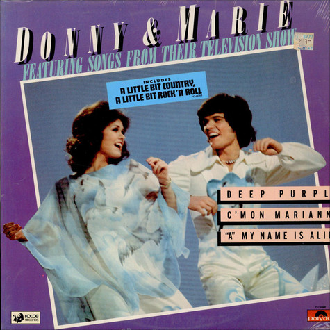 Donny & Marie Osmond - Donny & Marie Featuring Songs From Their Television Show