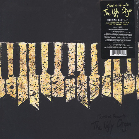 Cursive - The Ugly Organ Deluxe Edition
