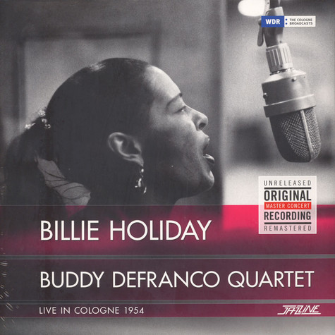 Billie Holiday/buddy Defranco Quartet - Live In Cologne 1954