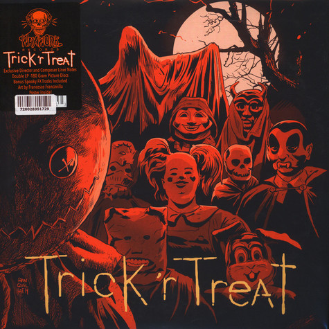 Douglas Pipes - OST Trick' R Treat Original 2007 Score Picture Disc Edition