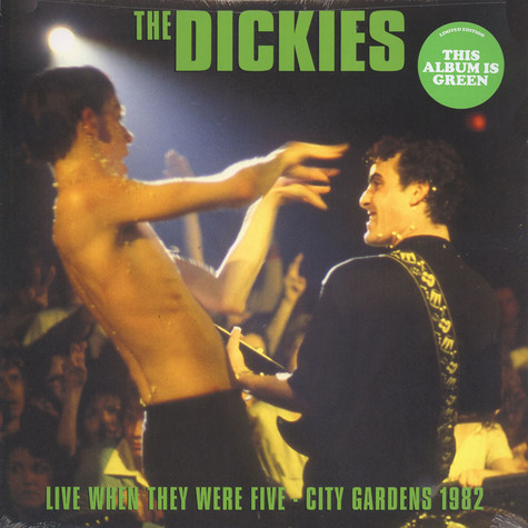 Dickies, the - Live When They Were Five Green Vinyl Edition