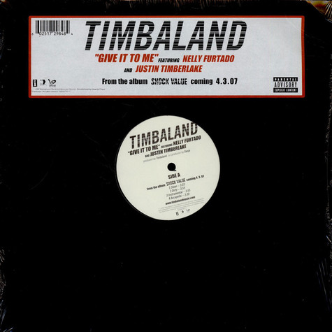 Timbaland - Give It To Me feat. Nelly Furtado And Justin Timberlake
