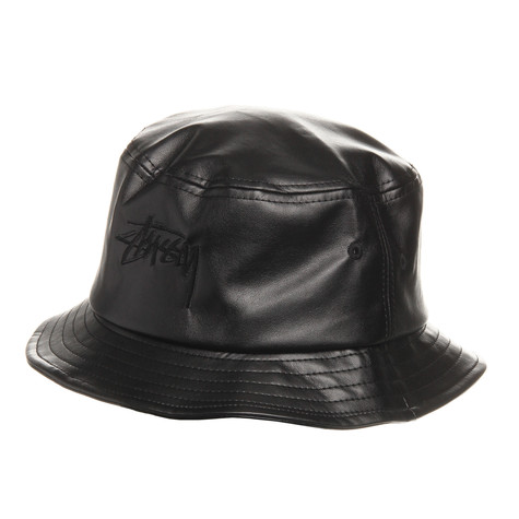 Stüssy - Stock Leather Bucket Hat