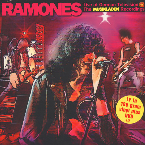 Ramones - Live At German TV - The Musikladen Recordings
