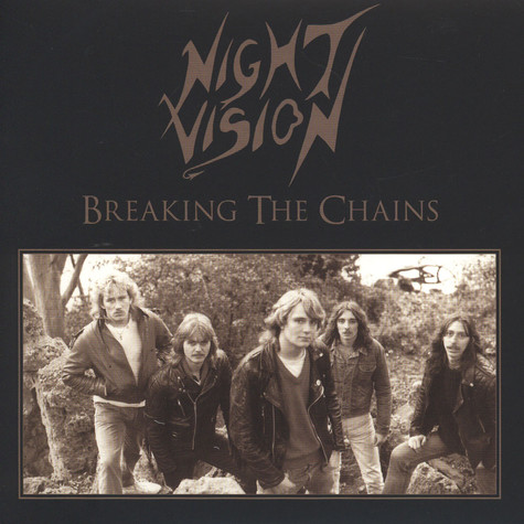 Night Vision - Breaking The Chains Black Vinyl Edition