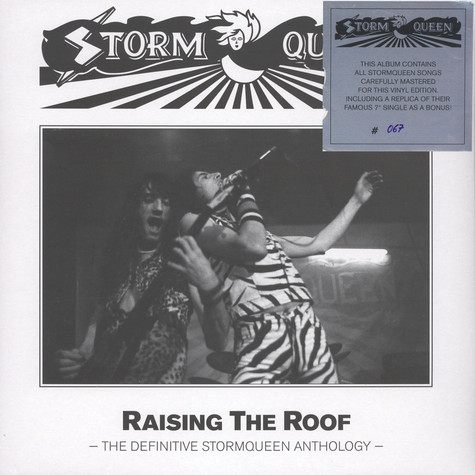 Stormqueen - Raising The Roof Black Vinyl Edition
