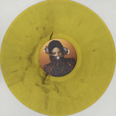 Michael Jackson - Slave2 The Rhythm feat. Justin Bieber Colored Vinyl Edition