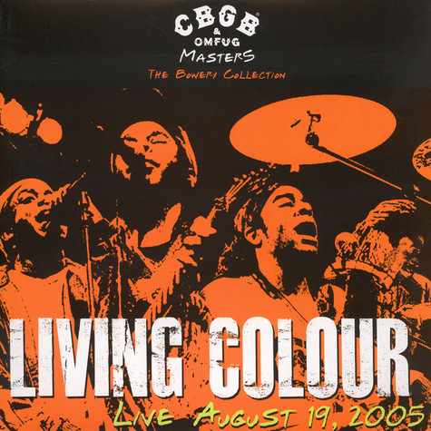 Living Colour - CBGB OMFUG Masters: August 19 2005 Bowery