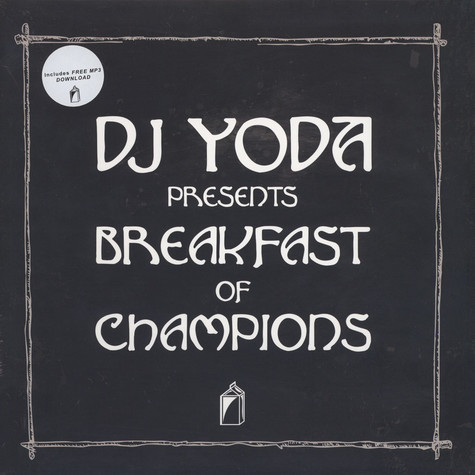 DJ Yoda presents - Breakfast Of Champions