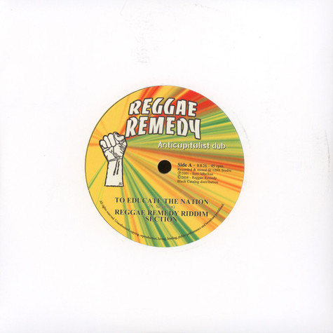 Reggae Remedy Riddim Section - To Educate The Nation