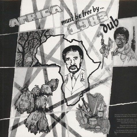 Hugh Mundell - Africa Must Be Free By 1983 Dub